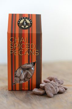 Chai Spiced, Chocolate-Dipped Pecans