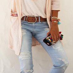 Estos pantalones rotos que lleva Mytenida te van a enamorar