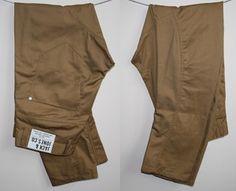 Genuine Jack & Jones Mens Jeans 36W 34L Fashion Designer Sand Chinos Trausers