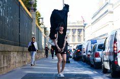 Paris Street Style Photos - Spring 2015 PFW Street Style Pictures