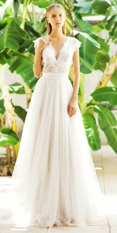 Gorgeous Christos Costarellos wedding dresses