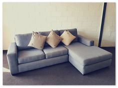 A fantastic up-market modern space grey L-SHAPE corner fabric couch in excellent condition - WOW! in the Couches & Chairs category was listed for on 15 Oct at by Lifespace Homeware in Gauteng Sofa, Couch, Modern Spaces, L Shape, Corner, Marketing, Chair, Grey, Fabric
