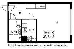 Vetelintie, Kannelmäki, Helsinki, 1h+kk 33,5 m², SATO vuokra-asunto