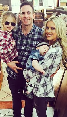 Pin for Later: Tarek and Christina El Moussa's Sweet Family Moments Will Make You Melt
