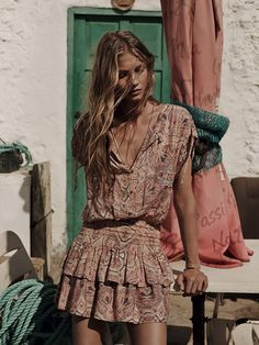 Anna Selezneva for Mango Spring 2014 Lookbook