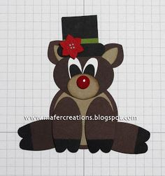 Mafer's Creations: RUDOLPH THE RED NOSED REINDEER - RUDOLPH THE RED NOSE REINDEER