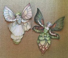 Jointed Fairies Paper Doll Kit by cynthiathornton on Etsy