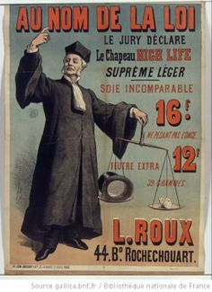 Au nom de la loi le jury déclare le chapeau High Life suprême léger...