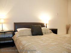 Furnished bedroom Furnished Apartments, Rental Apartments, London Apartment, Holiday Apartments, One Bedroom, Furniture, Home Decor, Homemade Home Decor, Home Furnishings