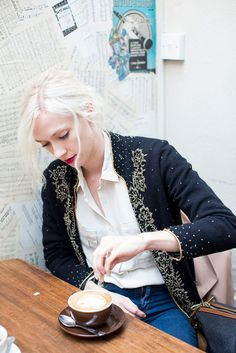 My City, My Style: Model Portia Freeman Whisks Us To Crouch End #refinery29 love vintage blazer