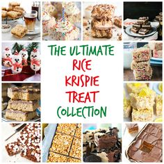 Rice Krispie Treats are always popular. No bake & portable they are perfect for summertime picnics, beach trips & taking to pot luck parties.