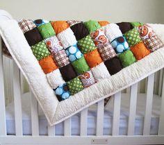 Puff quilt - biscuit quilt - bubble quilt- colors