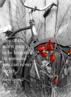 One of the worst pain is ...