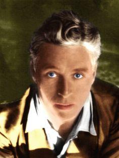 Charlie Chaplin Eye Color Circa 1931 the color blue