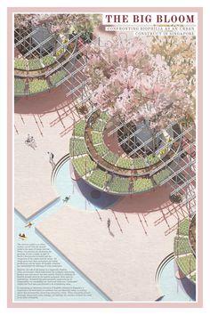 Stadium Architecture, Minecraft Architecture, Architecture Panel, Architecture Graphics, Architecture Portfolio, Architecture Drawings, Architecture Diagrams, Gothic Architecture, Landscape Architecture Perspective