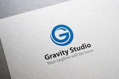 Gravity Studio Logo by Arslan on Creative Market