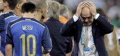 La Argentina perdió con Alemania 1-0 en la final y siente en el corazón haber quedado tan cerca de la gloria