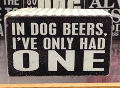 How many beers will you have this weekend?