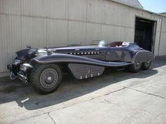 Red Skull's car from Captain America: