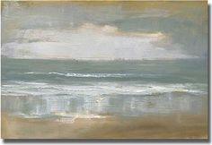 """""""Shoreline"""" Unframed Canvas Art by Caroline Gold - contemporary - artwork - Overstock houzz.com  $200"""