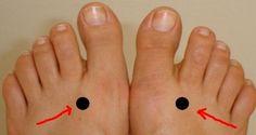 Čínska kultúra a medicína veria, že na našich nohách sa nachádza veľké množstvo dôležitých bodov, ktoré sú priamo prepojené s rôznymi časťami a orgánmi nášho tela. Preto stimuláciou amasážou týchto bodov dokážeme priniesť úľavu azlepšenie stavu mnohých telesných problémov.´ Na čo slúži bod Tai Chong