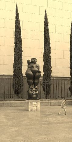 Botero at Medellin. #colombia