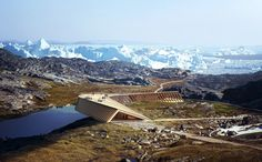 Dorte Mandrup Arkitekter Selected to Design Viewing Pavilion at Greenland's Icefjord,© Mir