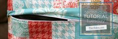 good tutorial for adding a hidden zipper to the back of a pillow. There is also a list of other good tutorials on the right hand side of the page