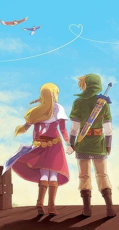 The Legend of Zelda ~ Skyward Sword ~ Legend of Zelda Fan Art
