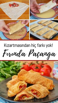 Baked Rag Pie (mit Video) - Leckere Rezepte - Yemek Tarifleri - Resimli ve Videolu Yemek Tarifleri Yummy Recipes, Pita Recipes, Yummy Food, Turkish Recipes, Ethnic Recipes, Quiche, Turkish Kitchen, Wie Macht Man, Fitness Diet