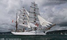 Tall Ships attract record boating and sailing fans in Belfast, Ireland. Over eight hundred thousand people visited the tall ships' in Belfast. Tall ship sailing fleet welcomed with Old Sailing Ships, Wood Boats, Sail Boats, Tall Ships, Yachts, Transportation, Ireland, Portugal, Fans