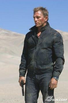 Daniel Craig. Dirty, dirty boy.