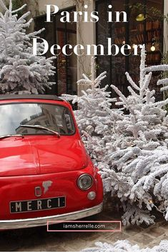 December is a great time to Paris! | France | Europe | Travel - Sherrelle