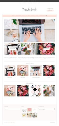 Beautiful Feminine WordPress Themes for Women