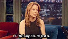 This actually made me tear up a bit! #precious     Jenna Fischer Says John Krasinski Is The Only Jim For Her