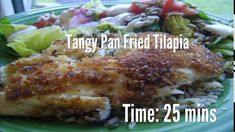 Tangy Pan Fried Tilapia Recipe – All Recipes Food Cooking Network Tilapia Recipes, Fish Recipes, Pan Fried Tilapia, Chocolate Covered Popcorn, Diy Snacks, Cooking Network, Gluten Free Recipes, Fries, Seafood