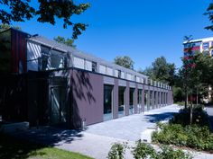 School in Munich (Germany) by Schankula Architekten  #School #College #Architecture #Zinc #Project #VMZINC #PIGMENTO