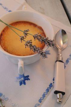 Crème Brûlée de lavanda