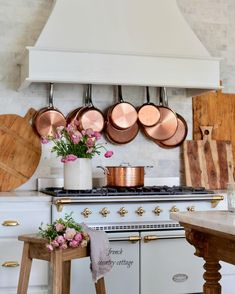 15 interessanti immagini di Cucina in rame | Copper pots, Copper ...