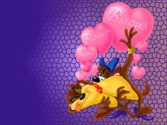 taz new years  | Free Taz in Love Wallpaper - Download The Free Taz in Love Wallpaper ...