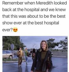 *cue the death scenes of the amazing characters we absolutely loved* Greys Anatomy Funny, Greys Anatomy Episodes, Greys Anatomy Couples, Greys Anatomy Cast, Grey Anatomy Quotes, Derek Shepherd, Meredith Grey, Gay Couple, Cosmopolitan
