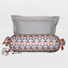 Ram Glitz Designer Pillows. Gold sparkly sham and ram head roll pillow. Perfect for my new room!!