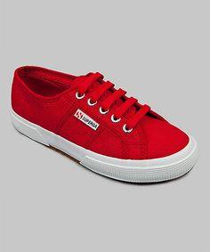 Look at this #zulilyfind! Maroon Red Cotu Classic Sneaker - Men & Women by Superga #zulilyfinds
