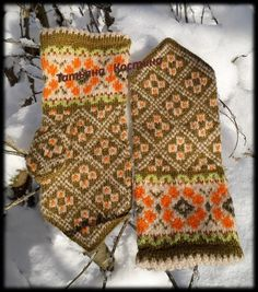 Fair Isle Knitting, Mittens, Knitting Patterns, Bohemian Rug, Photo Wall, Rugs, Decor, Gloves, Breien