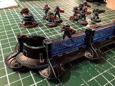Tau Tron Breachers and Shieldwall