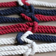 Our collection of Square Knot Bracelets! Wear one, or wear them all…