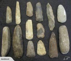 Collection of rare early Oceanic adzes and tools -provenance not known