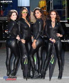 Monster Energy Girls, Monster Girl, Pit Girls, Promo Girls, Leder Outfits, Looks Plus Size, Girl Smoking, Bodysuit, Motorcycle Girls