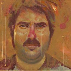 'Pep V.' · Acrylic on canvas  · 20x20cm.