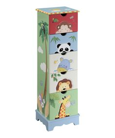Love this Sunny Safari Cabinet by Teamson Design on #zulily! #zulilyfinds